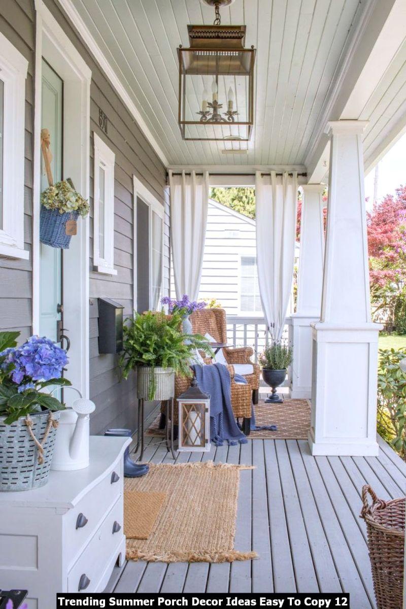 Trending Summer Porch Decor Ideas Easy To Copy 12