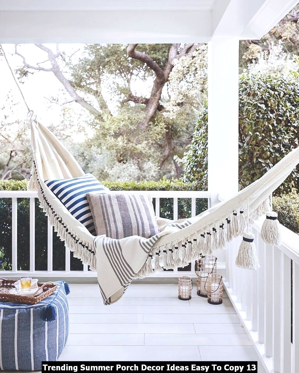 Trending Summer Porch Decor Ideas Easy To Copy 13
