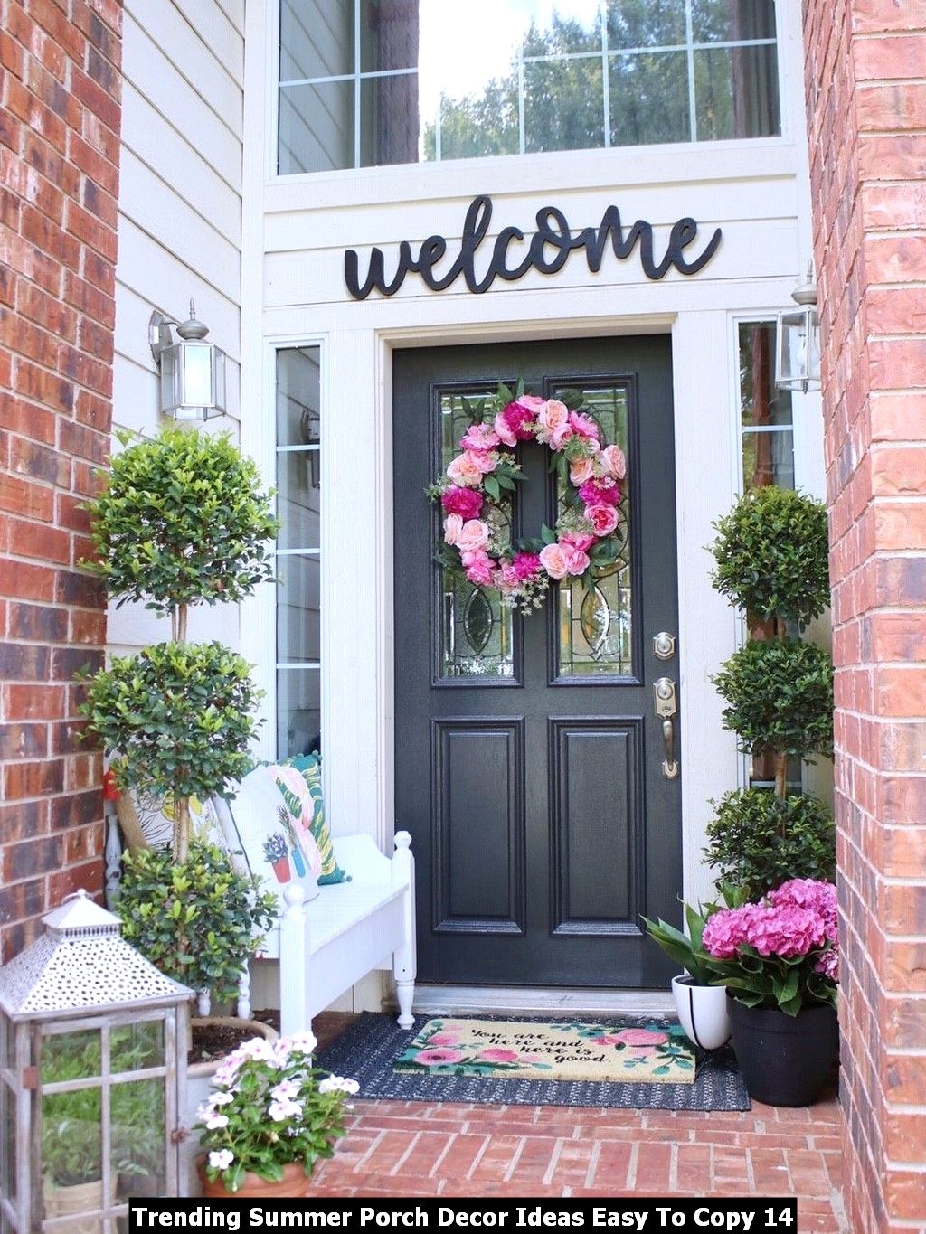 Trending Summer Porch Decor Ideas Easy To Copy 14