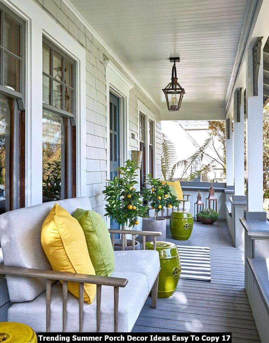 Trending Summer Porch Decor Ideas Easy To Copy 17