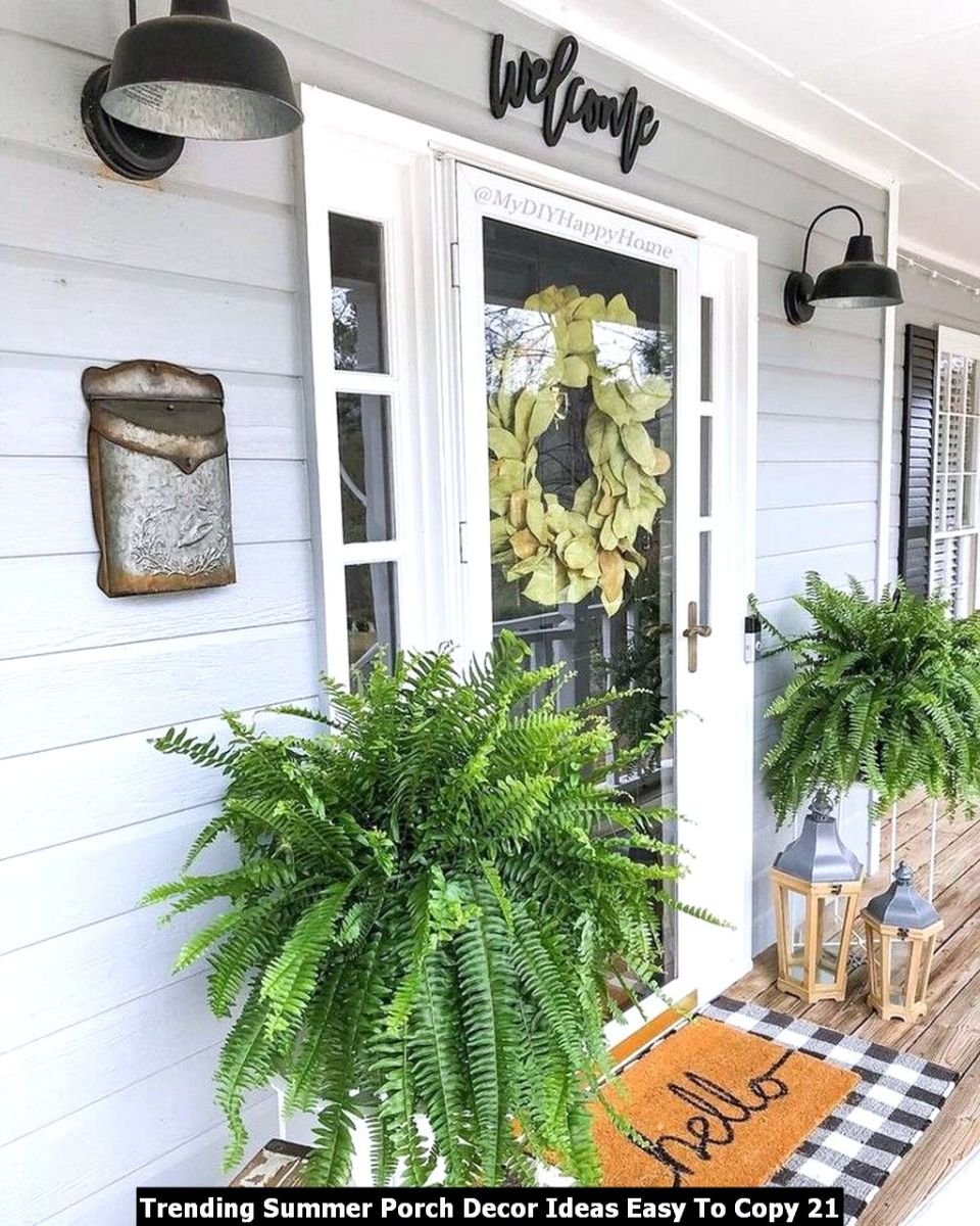 Trending Summer Porch Decor Ideas Easy To Copy 21