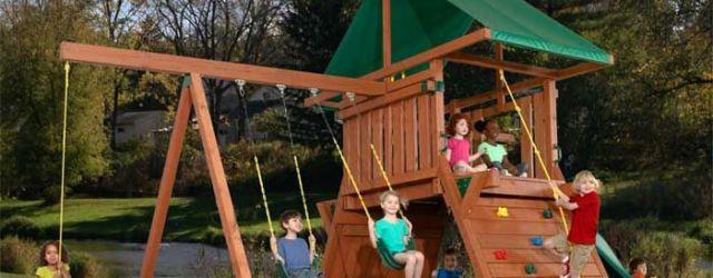 Kids Outdoor Play Set