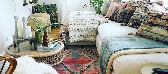 Boho Living Room Decor