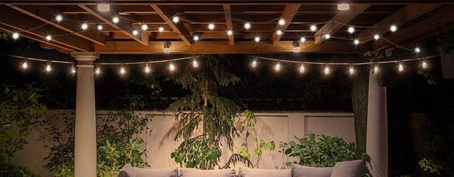 Edison Outdoor String Lights