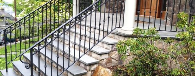 Wrought Iron Railing Outdoor
