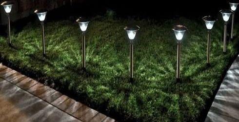 Outdoor Solar Garden Lights