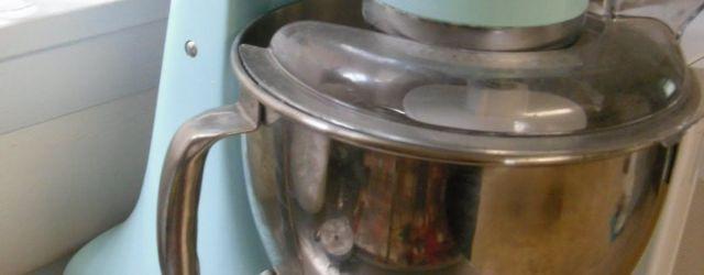 Ice Blue Kitchenaid Mixer