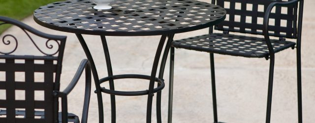 Outdoor Bar Height Bistro Set