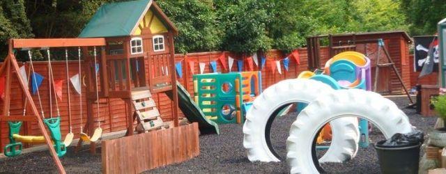 Kids Outdoor Play Area