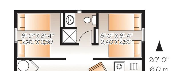 2 Bedroom Tiny House Plans