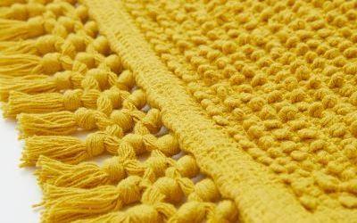 Yellow Bathroom Rugs