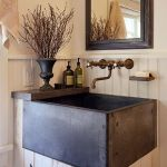 Rustic farmhouse style bathroom design ideas 24