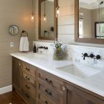 Rustic farmhouse style bathroom design ideas 27