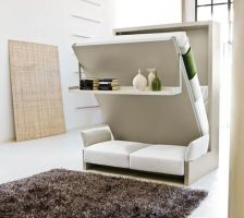 Saving space with creative folding bed ideas 45