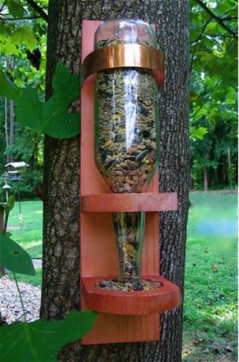 Creative DIY Bird Feeder Ideas 8