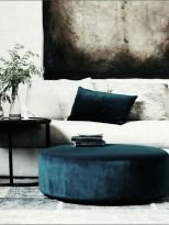 Inspiring Contrast Color Theme Interior Design 11