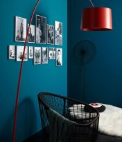 Inspiring Contrast Color Theme Interior Design 8