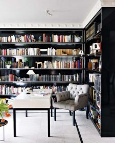 Inspiring Home Library Design and Decorations 18