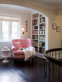 Inspiring Home Library Design and Decorations 19