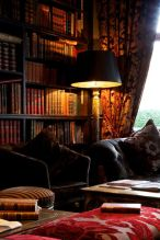 Inspiring Home Library Design and Decorations 32