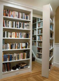 Inspiring Home Library Design and Decorations 34