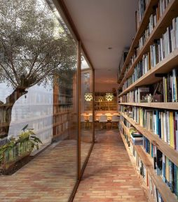 Inspiring Home Library Design and Decorations 43