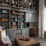 Inspiring Home Library Design and Decorations 47