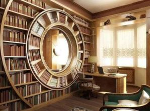 Inspiring Home Library Design and Decorations 7