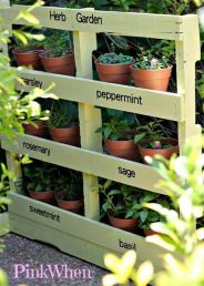 Simple DIY Vertical Garden Ideas 66