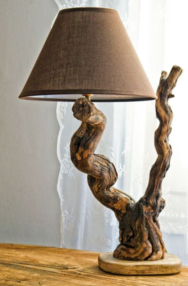 Amazing Wood Lamp Sculpture for Home Decoratios 1
