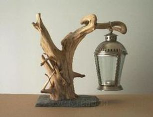 Amazing Wood Lamp Sculpture for Home Decoratios 29
