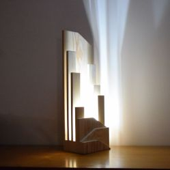 Amazing Wood Lamp Sculpture for Home Decoratios 34