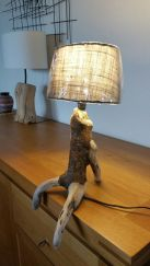 Amazing Wood Lamp Sculpture for Home Decoratios 62
