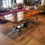 Awesome Resin Wood Table Project 14