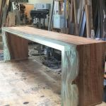 Awesome Resin Wood Table Project 23