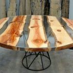 Awesome Resin Wood Table Project 24