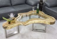 Awesome Resin Wood Table Project 28
