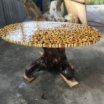 Awesome Resin Wood Table Project 39