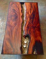Awesome Resin Wood Table Project 56