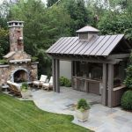 Awesome Yard and Outdoor Kitchen Design Ideas 49