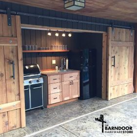 Awesome Yard and Outdoor Kitchen Design Ideas By thebarndoorhardwarestore.com