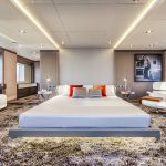 Modern Floating Bed Design with Under Light Ideas 15