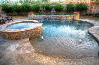 Awesome Small Pool Design for Home Backyard 20