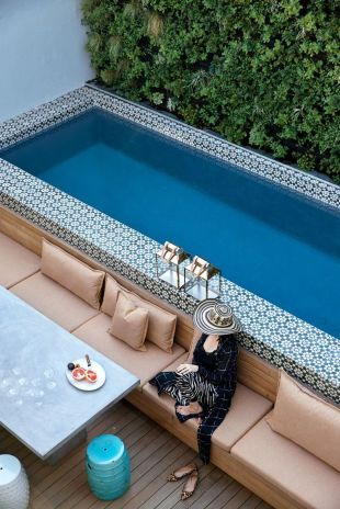 Awesome Small Pool Design for Home Backyard 6