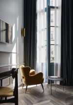 Awesome Tall Curtains Ideas for Living Room 12