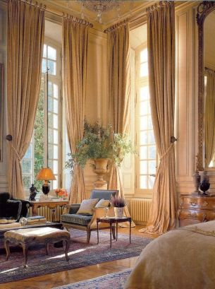 Awesome Tall Curtains Ideas for Living Room 21
