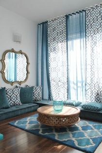 Awesome Tall Curtains Ideas for Living Room 4