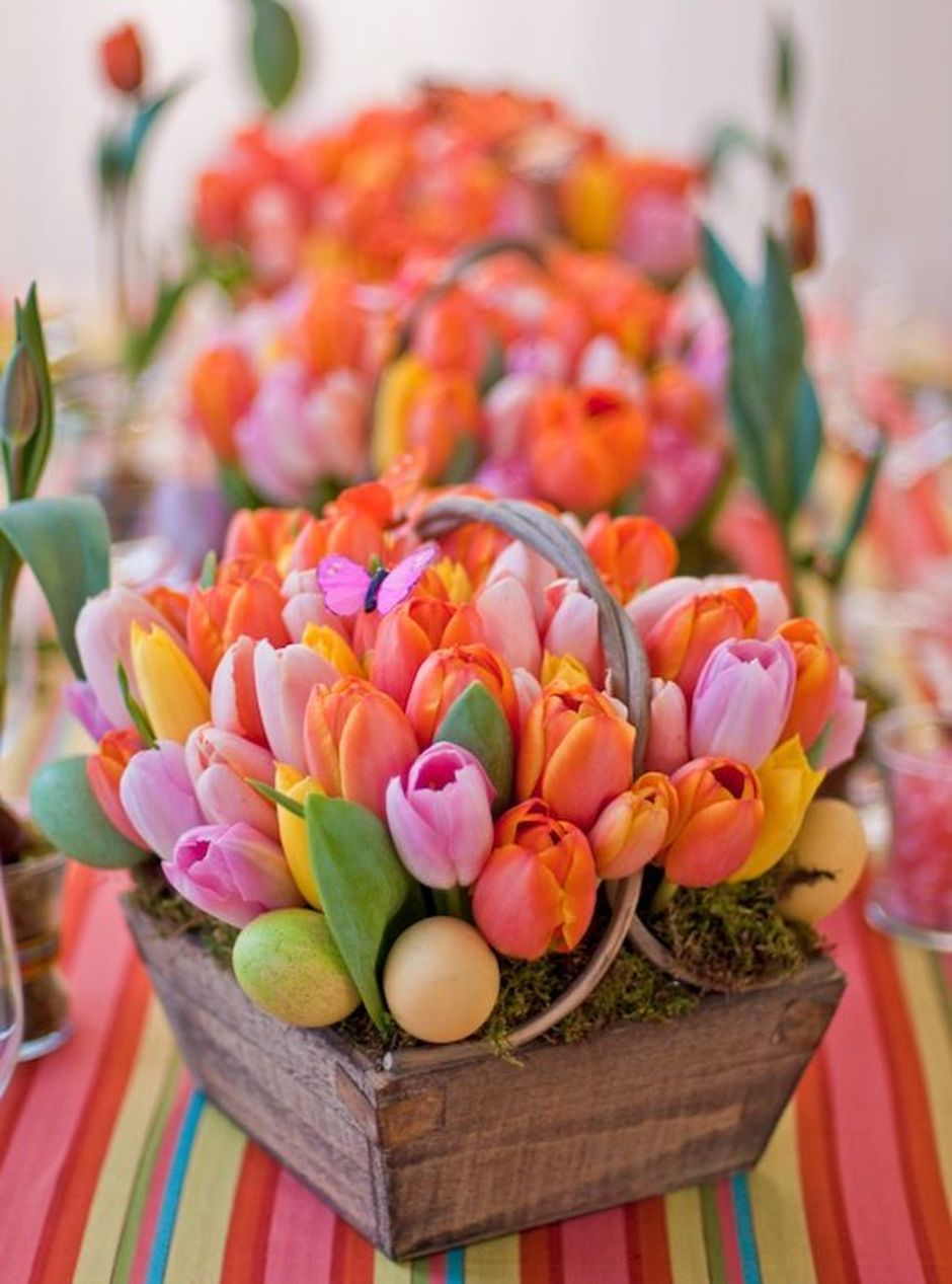100 Beauty Spring Flowers Arrangements Centerpieces Ideas 26
