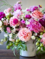 100 Beauty Spring Flowers Arrangements Centerpieces Ideas 80