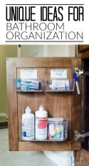70 Brilliant Ideas for Small Bathroom Hacks and Organization 12